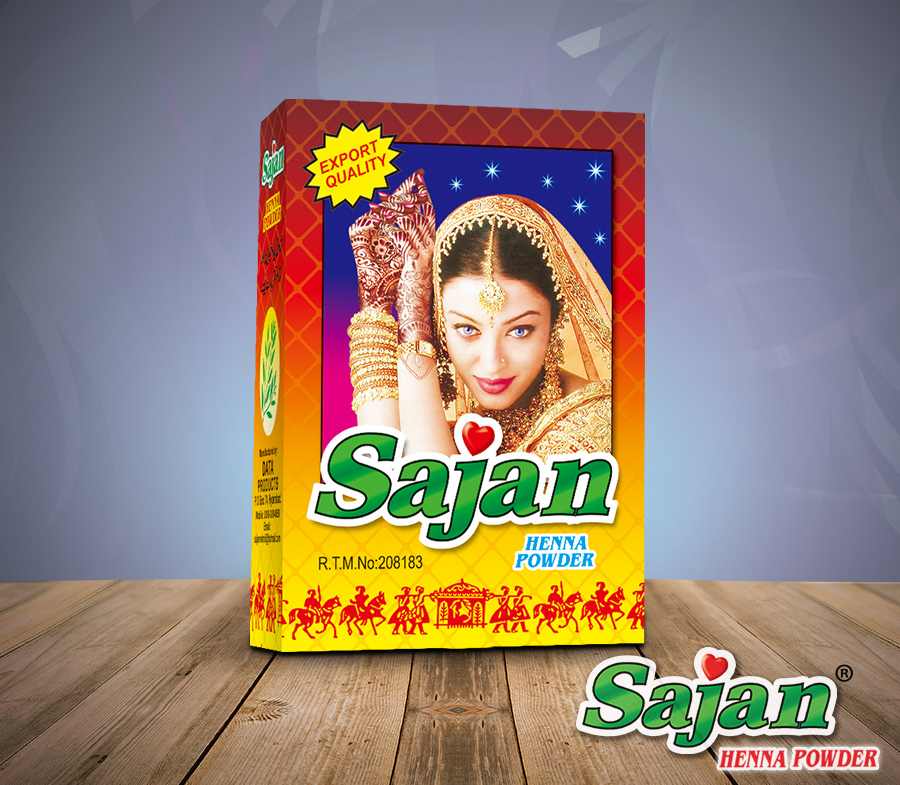 Sajan Brown Henna Powder